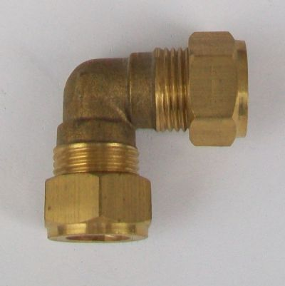 Brass Compression 12mm Microbore Elbow - 24441200